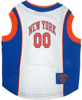 DoggieNation-NBA - New York Knicks Dog Jersey - XtraSmall