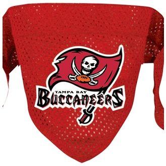 DoggieNation-NFL - Tampa Bay Buccaneers Dog Bandana - Small