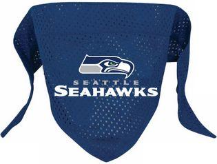 DoggieNation-NFL - Seattle Seahawks Dog Bandana - Small