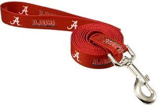 DoggieNation-College - Alabama Dog Leash - One Size