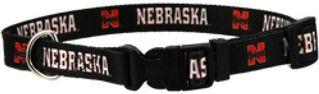 DoggieNation-College - Nebraska Huskers Dog Collar - Medium