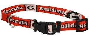 DoggieNation-College - Georgia Bulldogs Dog Collar - Small