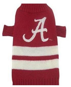 DoggieNation-College - Alabama Dog Sweater - Xtra Small