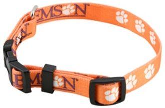 DoggieNation-College - Clemson Dog Collar - Small