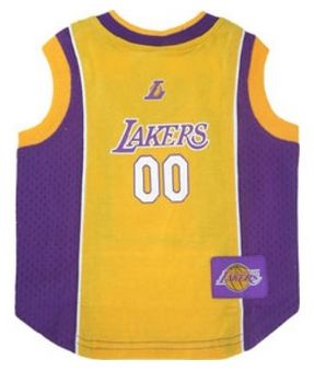 DoggieNation-NBA - Los Angeles Lakers Dog Jersey - Xtra Small