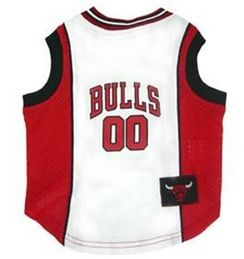 DoggieNation-NBA - Chicago Bulls Dog Jersey - Xtra Small