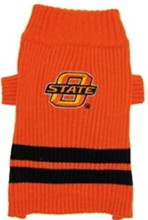 DoggieNation-College - Oklahoma State Dog Sweater - XtraSmall