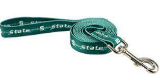 DoggieNation-College - Michigan State Dog Leash - One Size
