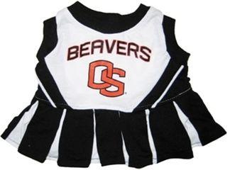 DoggieNation-College - Oregon State Cheerleader Dog Dress - XtraSmall