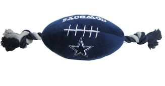 DoggieNation-NFL - Dallas Cowboys Plush Dog Toy - One