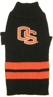 DoggieNation-College - Oregon State Dog Sweater - Small