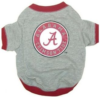 DoggieNation-College - Alabama Dog Tee Shirt - Large