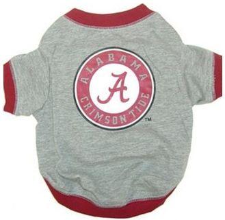 DoggieNation-College - Alabama Dog Tee Shirt - Xtra Small