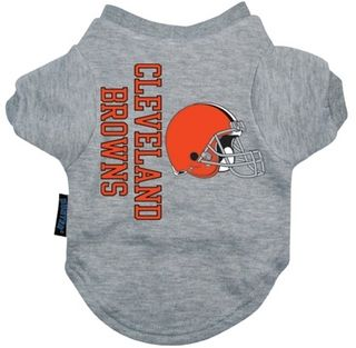 DoggieNation-NFL - Cleveland Browns Dog Tee Shirt - Xtra Large
