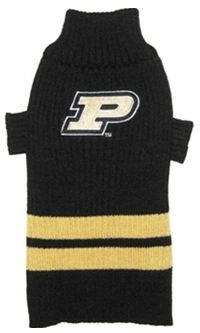 DoggieNation-College - Purdue Dog Sweater - Large
