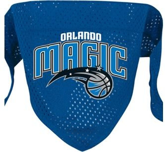 DoggieNation-NBA - Orlando Magic Mesh Dog Bandana - Large