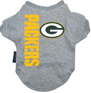 DoggieNation-NFL - Green Bay Packers Dog Tee Shirt - Medium
