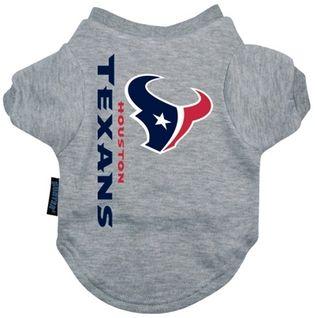 DoggieNation-NFL - Houston Texans Dog Tee Shirt - Xtra Large
