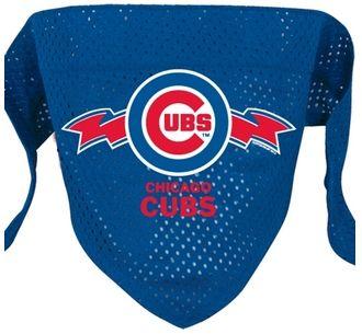 DoggieNation-MLB - Chicago Cubs Mesh Dog Bandana - Large