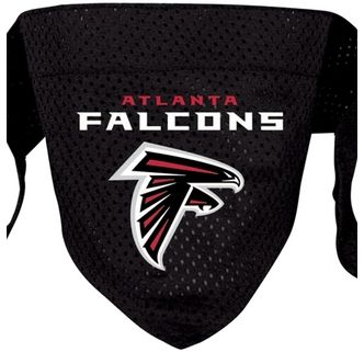 DoggieNation-NFL - Atlanta Falcons Dog Bandana - Small