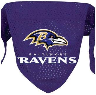 DoggieNation-NFL - Baltimore Ravens Dog Bandana - Large