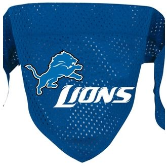 DoggieNation-NFL - Detroit Lions Dog Bandana - Large