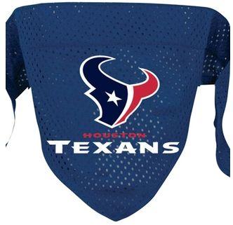 DoggieNation-NFL - Houston Texans Dog Bandana - Small