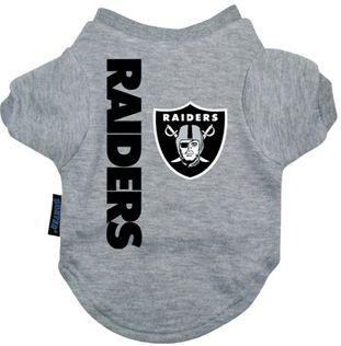 DoggieNation-NFL - Oakland Raiders Dog Tee Shirt - Medium