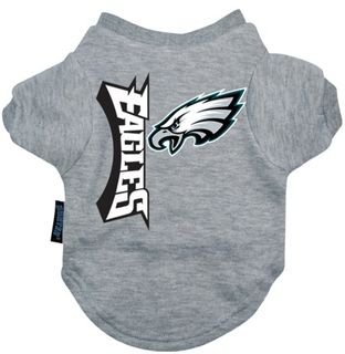 DoggieNation-NFL - Philadelphia Eagles Dog Tee Shirt - Large
