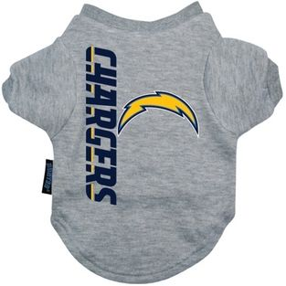 DoggieNation-NFL - San Diego Chargers Dog Tee Shirt - Large