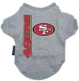 DoggieNation-NFL - San Francisco 49ers Dog Tee Shirt - Xtra Large