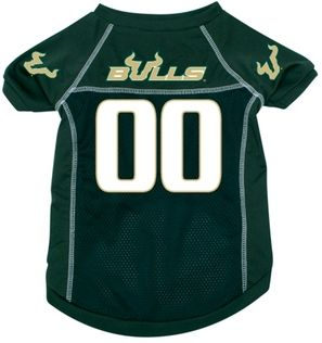 DoggieNation-College - University of South Florida Dog Jersey - Large