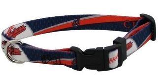 DoggieNation-MLB - Cleveland Indians Dog Collar - Small