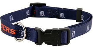 DoggieNation-MLB - Detroit Tigers Dog Collar - Large