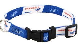 DoggieNation-MLB - Los Angeles Dodgers Dog Collar - Medium