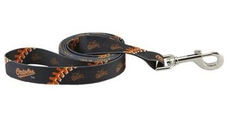 DoggieNation-MLB - Baltimore Orioles Dog Leash - One Size