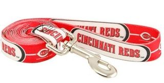 DoggieNation-MLB - Cincinnati Reds Dog Leash - One Size