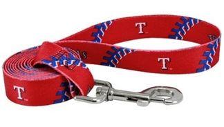 DoggieNation-MLB - Texas Rangers Dog Leash - One Size