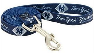 DoggieNation-MLB - New York Yankees Dog Leash - One Size