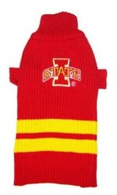 DoggieNation-College - Iowa State Dog Sweater - Small
