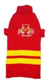 DoggieNation-College - Iowa State Dog Sweater - Large