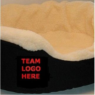 DoggieNation-College - Arkansas Oval Dog Bed - XtraLarge
