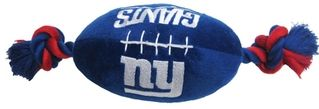DoggieNation-NFL - New York Giants Plush Football - One-Size