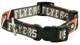 DoggieNation-NHL - Philadelphia Flyers Dog Collar - Large