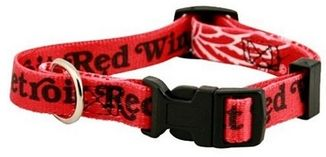 DoggieNation-NHL - Detroit Red Wings Dog Collar - Large