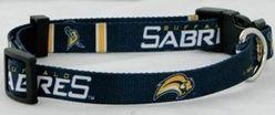 DoggieNation-NHL - Buffalo Sabres Dog Collar - Small