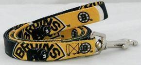 DoggieNation-NHL - Boston Bruins Dog Leash - One-Size