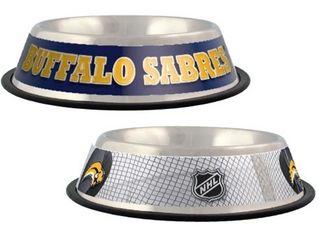 DoggieNation-NHL - Buffalo Sabres Dog Bowl-Stainless - One-Size