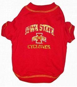 DoggieNation-College - Iowa State Dog Tee Shirt - Large