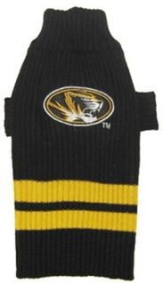 DoggieNation-College - Missouri Tigers Dog Sweater - Small